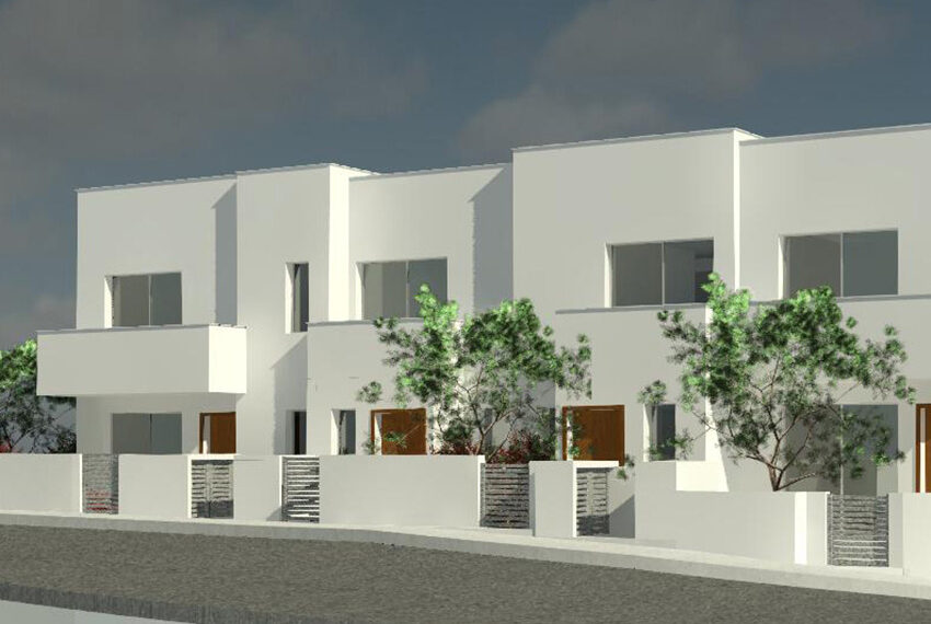 Modern 2 bedroom townhouse for sale Petridia Paphos_1