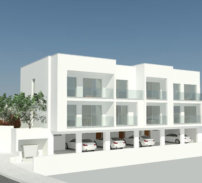 Modern 2 bedroom townhouse for sale Petridia Paphos