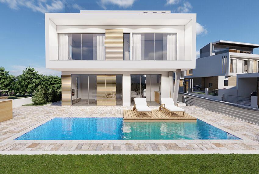 Luxury villas for sale near Nissi Beach Ayia Napa Cyprus_1