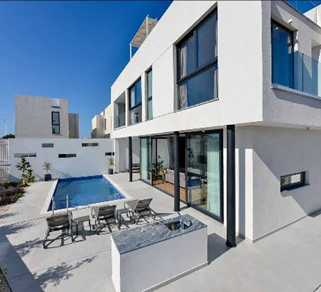 4 bedroom modern villa for sale in Protaras Cyprus
