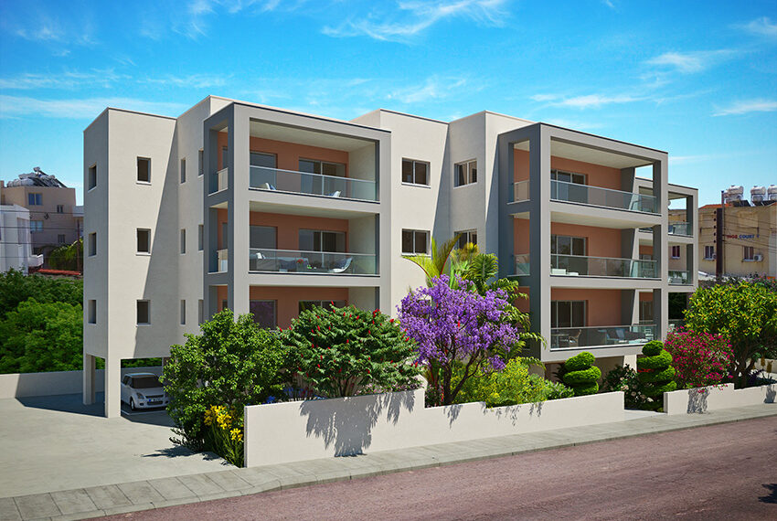 Modern 3 bedroom apartment for sale in Paphos town_1