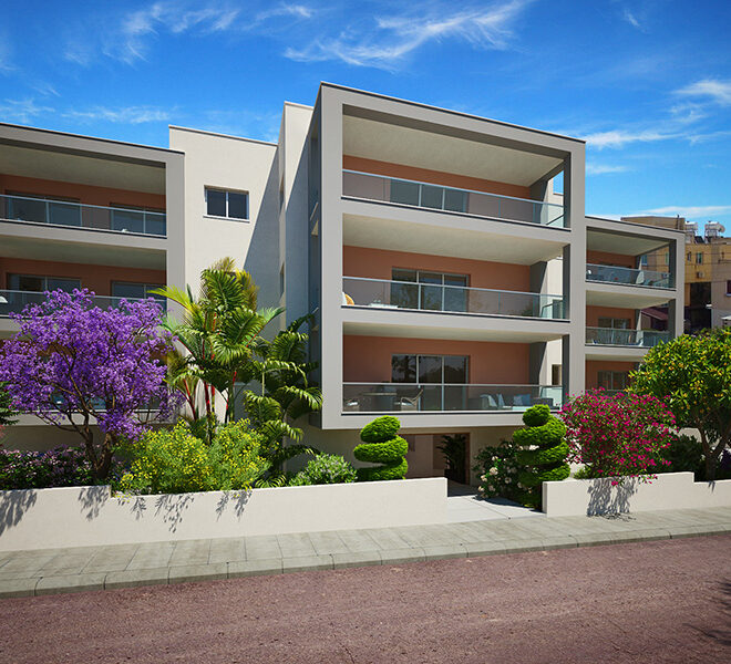 Modern 3 bedroom apartment for sale in Paphos town