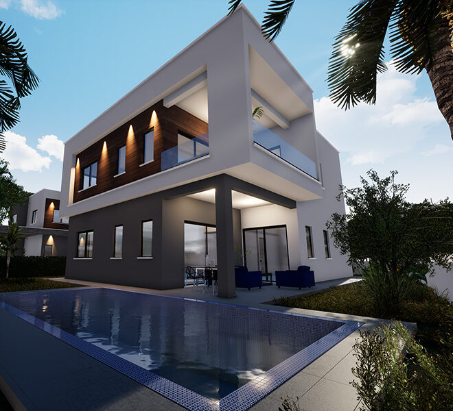 Luxury 4 bedroom villa for sale River Side Limassol