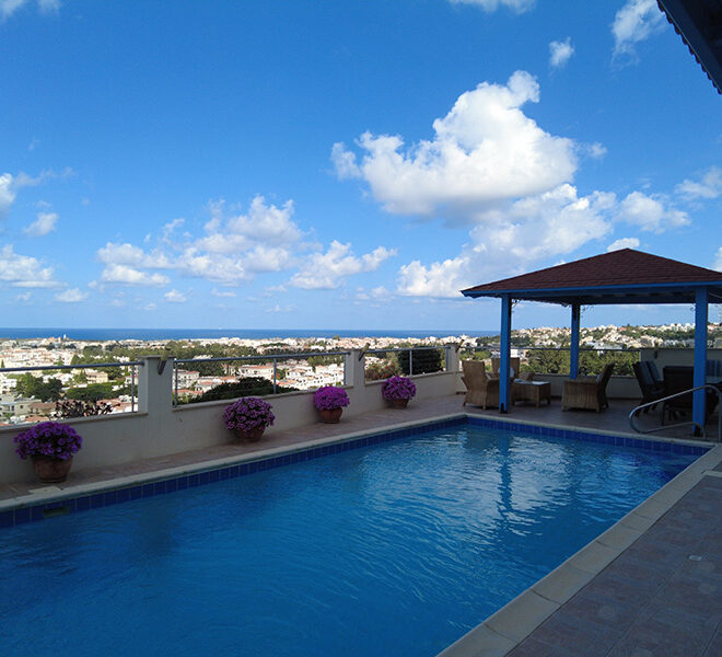 Apartment for rent with private pool and fantastic views Paphos
