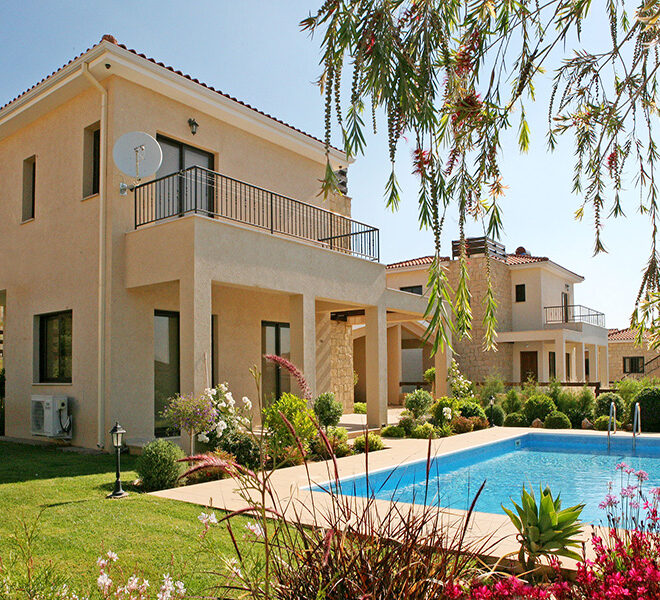 2 bed villa for sale with private pool Souni Limassol