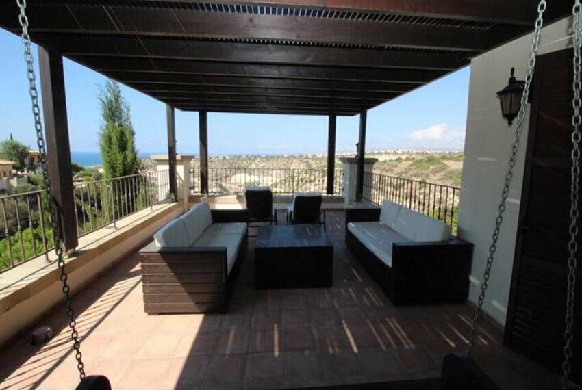 For rent junior villa with private pool Aphrodite hills resort _9
