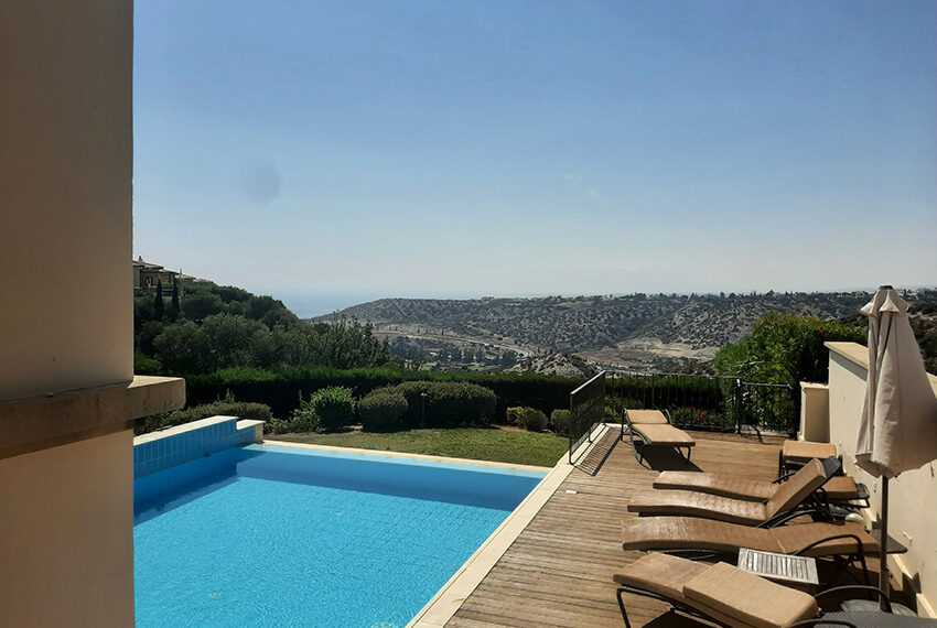 For rent junior villa with private pool Aphrodite hills resort _30