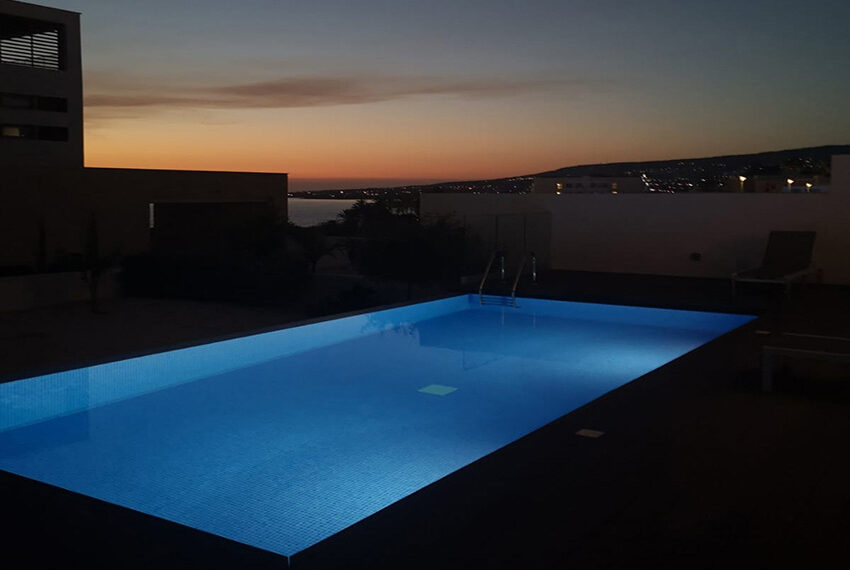 Luxury villa with private pool for rent near beach Kissonerga_42